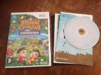 Animal Crossing Lets Go to the City - Nintendo Wii