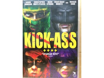 DVD-film: Kick-ass - Kosta - DVD-film: Kick-ass - Kosta