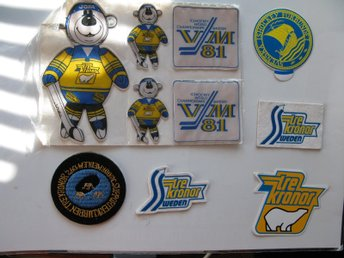 VM-81 SHEET!STICKERS!PATCH!TRE KRONOR!