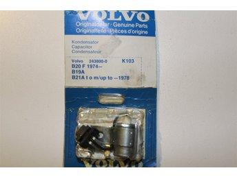 En kondensator Volvo orig 142,144,145,240,740,1800ES, - Färila - En kondensator Volvo orig 142,144,145,240,740,1800ES, - Färila