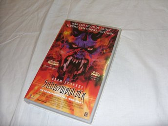 Bramstokers Shadowbuilder VHS PAL Engelsk Skräck film Horror