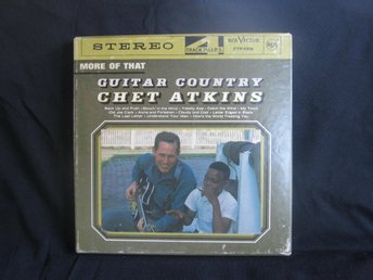 "CHET ATKINS ""GUITAR COUNTRY ORIGINAL RCA VICTOR FTP-1319 RULLBAND MKT FINT SKICK"