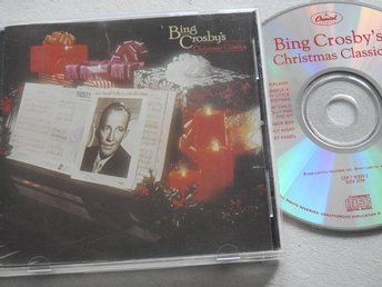 Bing Crosby's Christmas Classics CD Capitol CDP-7 91009 2 Crosby
