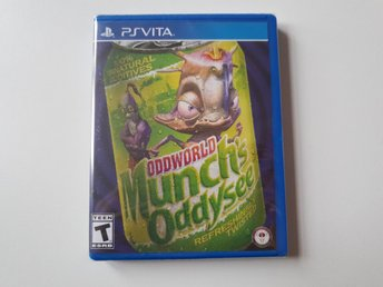 Oddworld Much's Oddysee - Limited Run Games #119 - PS Vita NYTT