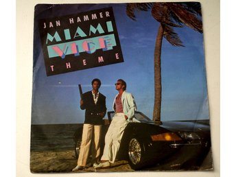 "Jan Hammer / Miami Vice Theme 7"" 1985"