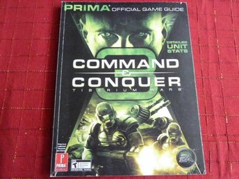 COMMAND CONQUER, GAME GUIDE,  BOK, BÖCKER