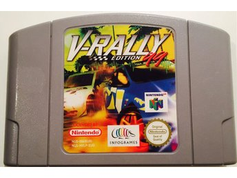 ~ NINTENDO 64 V-RALLY SPORT EDITION ~