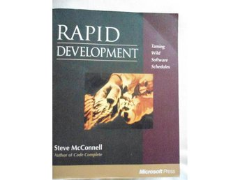 Rapid Development. Steve McConnell