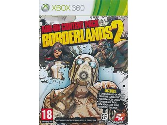 Borderlands 2: Add On Content Pack PS3 - Helt Nytt Fraktfritt