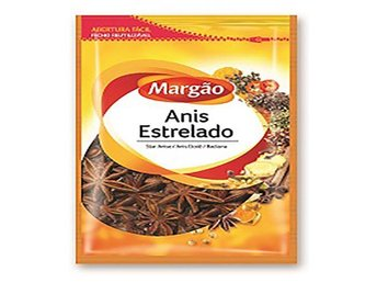 Delicious Portuguese Whole Star Anise Refill - Margao (4x25g)