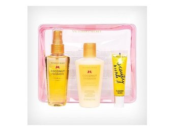 Giftset Victorias Secret Jet Setter Coconut Passion