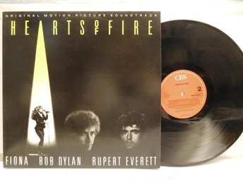 HEARTS OF FIRE - SOUNDTRACK - BOB DYLAN