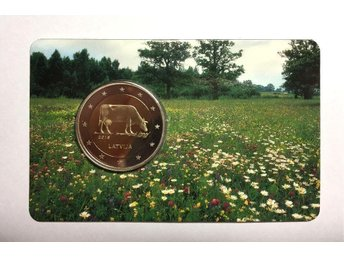 2 euro coin in Blister - Latvian agricultural industry – Latvia, 2016