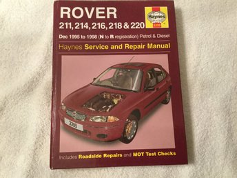 Rover, service and repair manual Tryckt 2003, engelsk text
