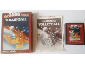 Atari 2600 Volleyball Komplett