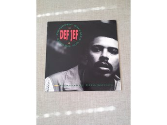 Def Jef feat. Etta James – Droppin' Rhymes On Drums 12""