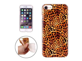 iPhone 8 TPU, Leopardmönster Skal