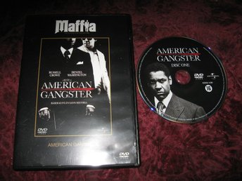 AMERICAN GANGSTER (RUSSEL CROW,DENZEL WASHINGTON) DVD