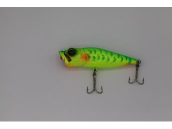 Grows Culture Wobbler Popper Spinnfiske 6 gram 6.5 cm