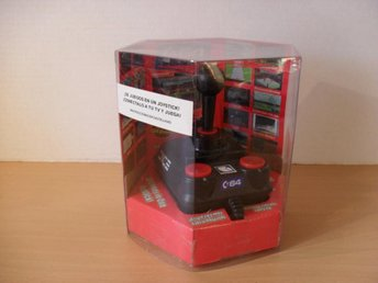 C-64 Joystick 30 games in one 2005 TV to play! Vet ej mer!