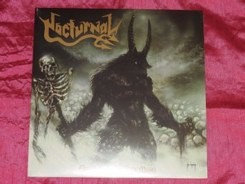 NOCTURNAL - ARRIVAL OF THE CARNIVORE - 10 LÅTARS LP - GER 2015 - ENDAST 150 EX