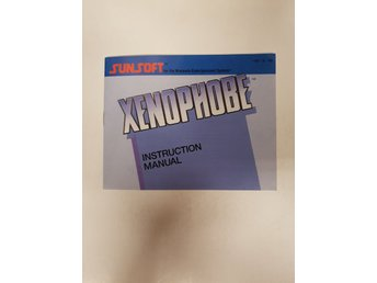 Xenophobe - Manual NES NINTENDO - USA