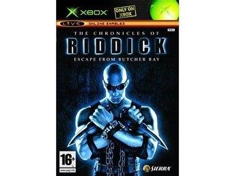THE CHRONICLES OF RIDDICK ESCAPE FROM BUTCHER BAY - XBOX SPEL