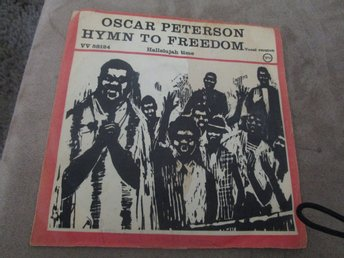 Oscar Peterson Hymn to freedom/Hallelujah time Danmark