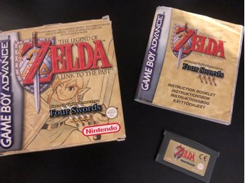Zelda - A link to the past four swords GBA