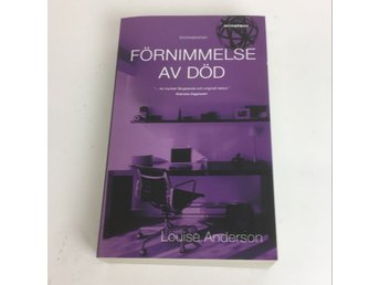 Bok, Förnimmelse av död, Louise Anderson, Pocket, ISBN: 9789185283378, 2006