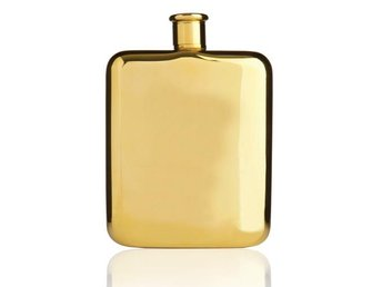 Belmont gold flask, True