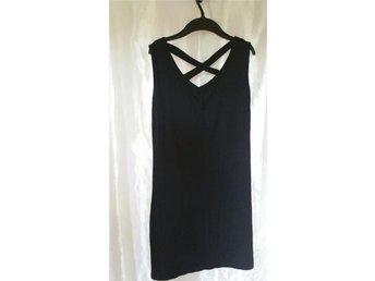 Bodycon kort svart stretchig klänning M - Norrköping - Bodycon kort svart stretchig klänning M - Norrköping