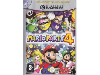 Mario Party 4 Players Choice (Ej Manual)