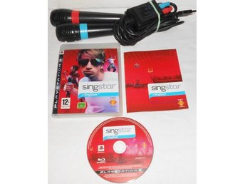 SingStar till PS3 Mikrofoner med sladd PS2/PS3