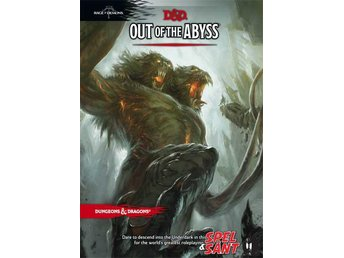 Dungeons & Dragons Out of the Abyss 5th Edition (Inbunden)