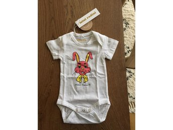 Body bebis Mini Rodini Organic cotton, st 56/62 NY