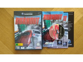 Nintendo GameCube: Burnout (svensk manual)