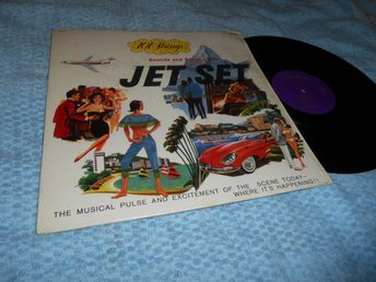 Sounds and Songs of the Jet Set (LP) häftig 60s EX/EX