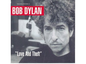 CD  Bob Dylan Love and theft