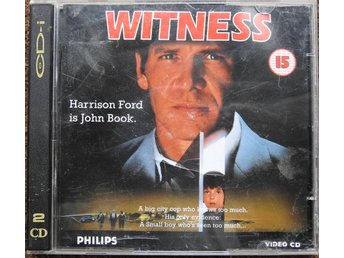 Witness (Harrison Ford) Philips CD-i Video CD (inte DVD)