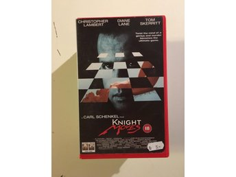Knight moves/Christopher Lambert/Diane Lane/Columbia tristar /VHS