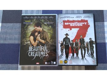 Beautiful creatures & The magnificient seven DVD