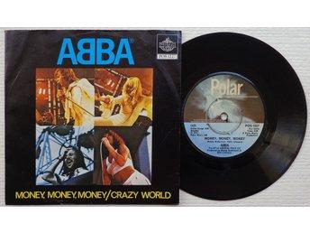 "Javascript är inaktiverat. - Bröndby - ABBA 'Money, Money, Money' 1976 Danish 7""/45 rpm vinyl singleFormat: 7"" Center Hole: SMALL, INTACT ORIGINAL CENTER-PRONGYear of Release, Country of Origin: 1976, DENMARK Condition Record/Sleeve: EX+/EX VERY minor superficial surface wear, textu - Bröndby"