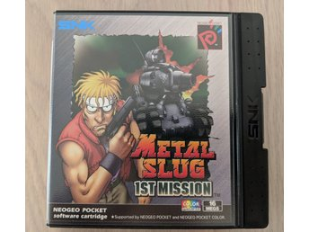 METAL SLUG 1ST MISSION  -[ NEO GEO POCKET COLOR ]-
