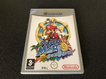 Super Mario Sunshine - Gamecube - Svensk Version KANONSKICK