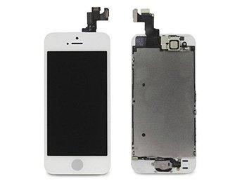 iphone 5S vit orginal LCD komplett