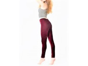 NYTT storlek X-LARGE WINE RED QUALITY TERMO LEGGINGS