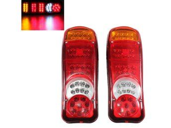 2x 40LED Trailer Truck Van Caravan Stop Rear Tail Indicat...