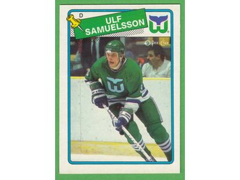 1988-89 O-Pee-Chee #136 Ulf Samuelsson Hartford Whalers