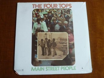 THE FOUR TOPS,  MAIN STREET PEOPLE,   LP, LP-SKIVA